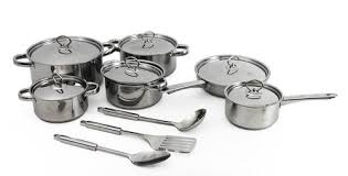 15 Piece Dolphin Cookware Set