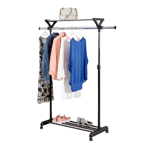 Clothing Rail With Shoe Rack