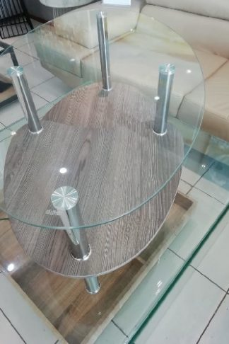 Oval-Glass-A-Touch-Of-Wood-Coffee-Table