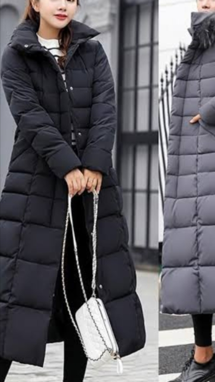 Quilted Winter Jackets for Women
