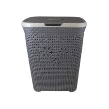 Grayish 50L Laundry Basket